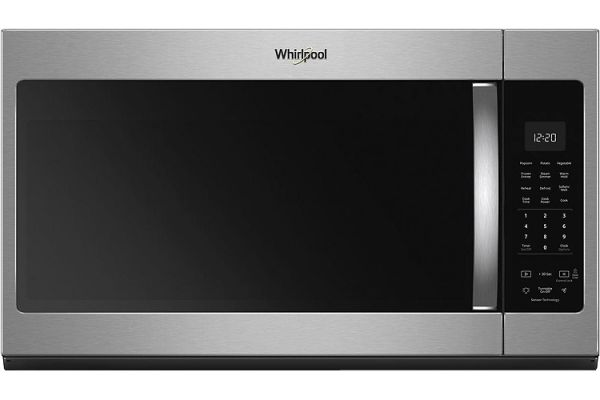 Whirlpool Fingerprint Resistant Stainless Steel Over-The-Range Microwave Hood Combination - WMH32519HZ