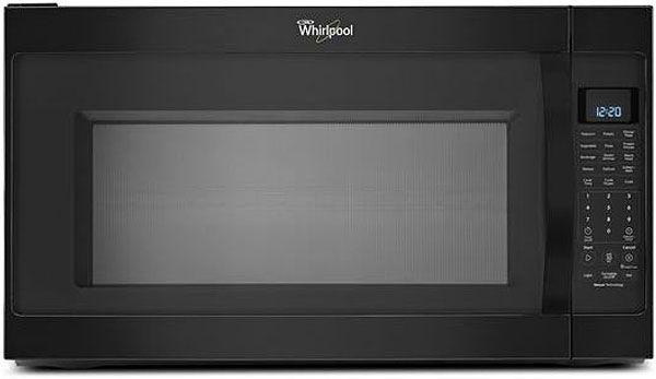 Whirlpool 2 0 Cu Ft Microwave Hood Combo Wmh53520cb