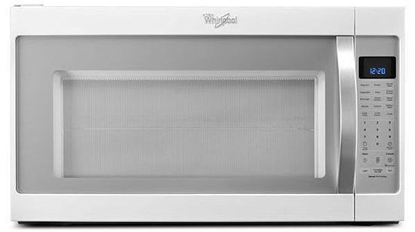 Whirlpool White Microwave Hood Combo Wmh53520ch Abt