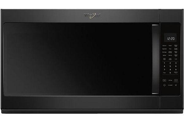Whirlpool Black Over-The-Range Microwave Hood Combination - WMH53521HB