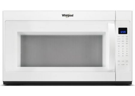Whirlpool White Over-The-Range Microwave Hood Combination - WMH53521HW