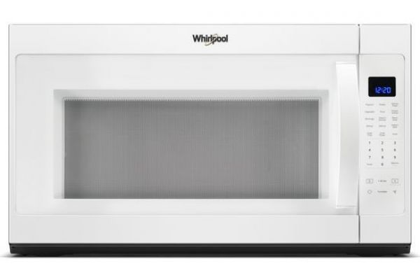 Large image of Whirlpool White Over-The-Range Microwave Hood Combination - WMH53521HW