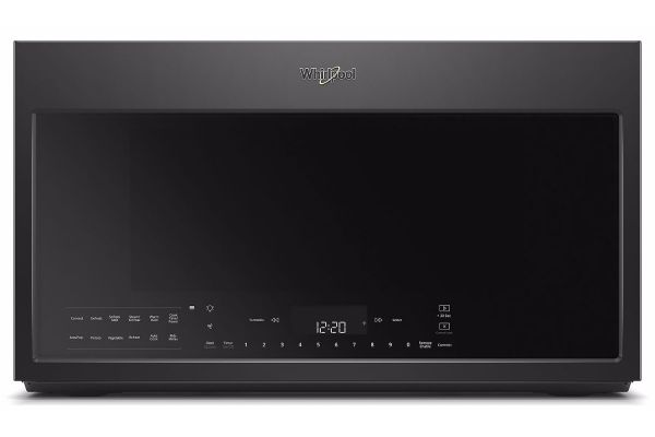 Whirlpool Black Over-The-Range Microwave Hood Combination - WMH78019HB