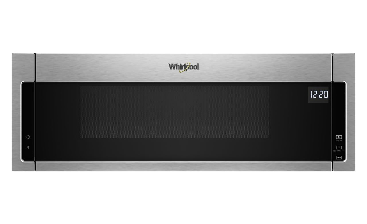 Whirlpool 1 Cu Ft Stainless Steel Low Profile Microwave Hood Combination