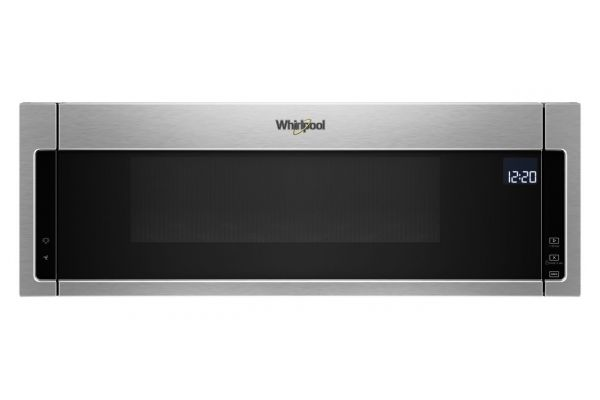 Large image of Whirlpool 1.1 Cu. Ft. Fingerprint Resistant Stainless Steel Low Profile Microwave Hood Combination - WML75011HZ