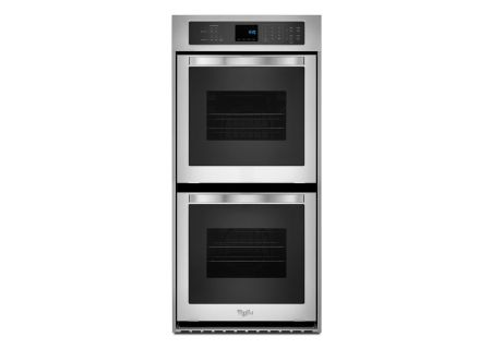 "Whirlpool 24"" Stainless Steel Electric Double Wall Oven - WOD51ES4ES"