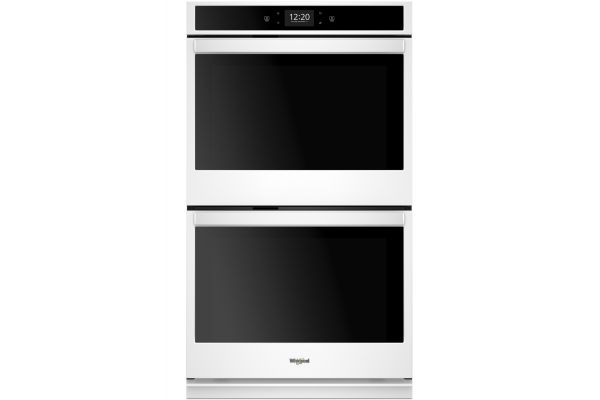 Whirlpool 10 Cu. Ft. White Smart Electric Double Wall Oven - WOD77EC0HW