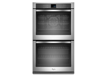Whirlpool Stainless Double Electric Wall Oven - WOD93EC0AS