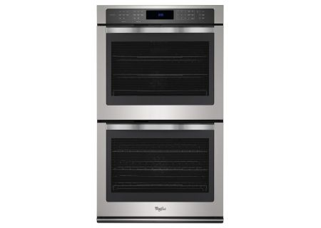 Whirlpool 10 Cu. Ft. Stainless Steel Double Wall Oven  - WOD97ES0ES