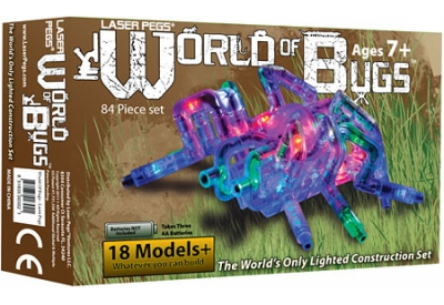 Laser Pegs - WORLDOFBUGS - Video Game Accessories