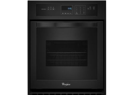 Whirlpool Black Single Electric Wall Oven - WOS11EM4EB