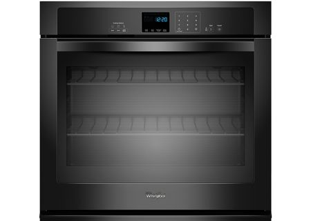 Whirlpool Black Single Electric Wall Oven - WOS51EC0AB