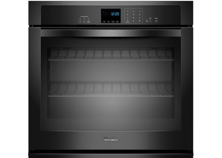 Whirlpool Black Single Electric Wall Oven - WOS51EC7AB