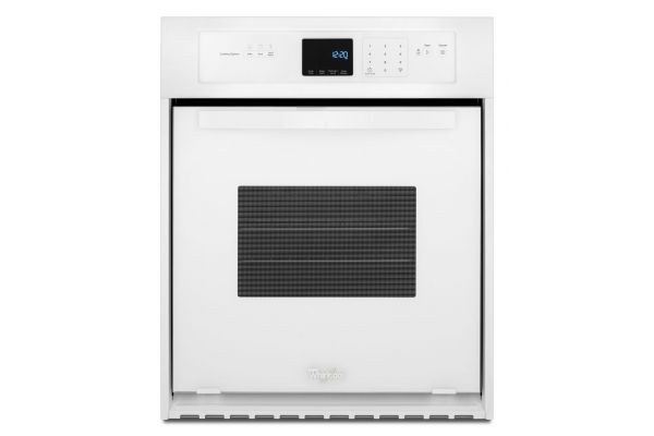 Large image of Whirlpool 3.1 Cu. Ft. White Single Wall Oven  - WOS51ES4EW
