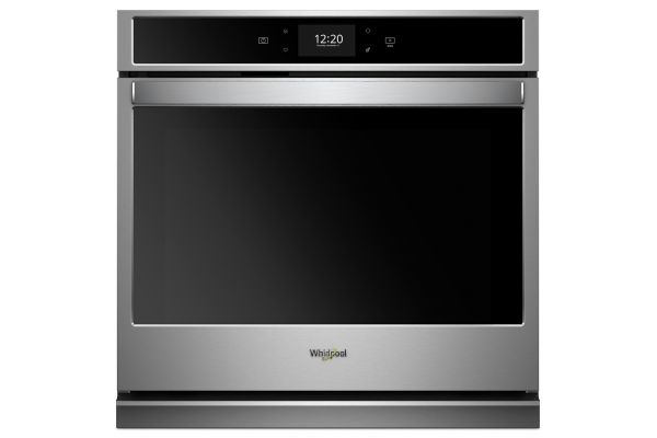 "Large image of Whirlpool 30"" Stainless Steel Single Electric Wall Oven - WOS72EC0HS"