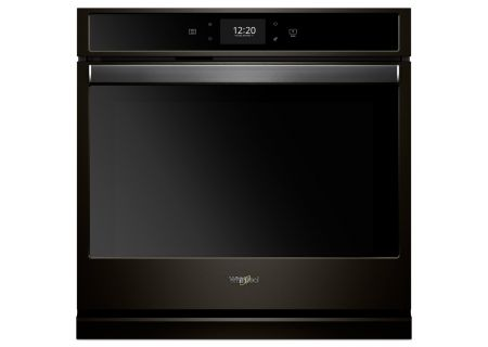 "Whirlpool 27"" Black Stainless Single Electric Wall Oven - WOS72EC7HV"