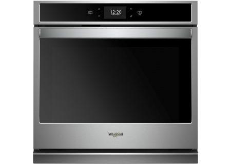 "Whirlpool 30"" Fingerprint Resistant Stainless Steel Smart Single Wall Oven - WOS97EC0HZ"
