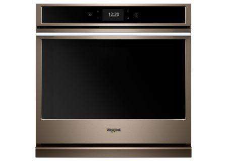 "Whirlpool 30"" Sunset Bronze Single Electric Wall Oven - WOSA2EC0HN"