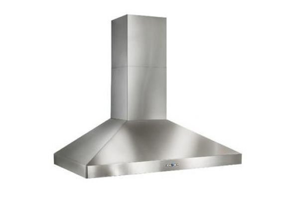 "Large image of Best Colonne 42"" Stainless Steel Chimney Range Wall Hood  - WPP9E42SB"