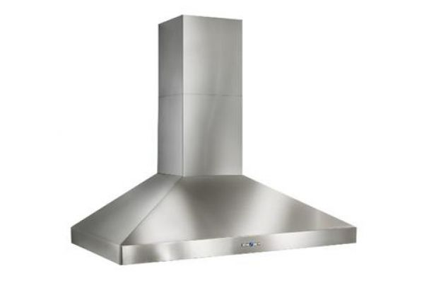 "Best Colonne 36"" Stainless Steel 1200 CFM Chimney Range Wall Hood  - WPP9IQT36SB"