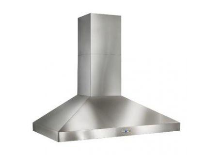 "Best Colonne 42"" Stainless Steel 1200 CFM Chimney Range Wall Hood  - WPP9IQT42SB"