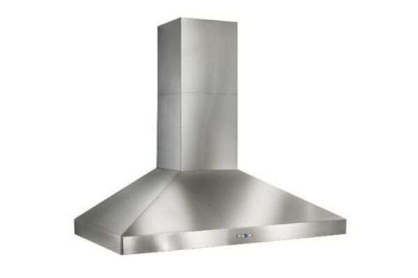 "Best Colonne 54"" Stainless Steel 1200 CFM Chimney Range Wall Hood - WPP9IQT54SB"