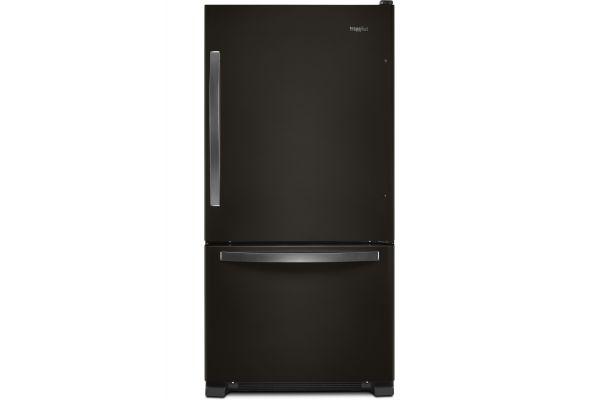 Whirlpool Black Stainless Steel Bottom Freezer Refrigerator - WRB322DMHV