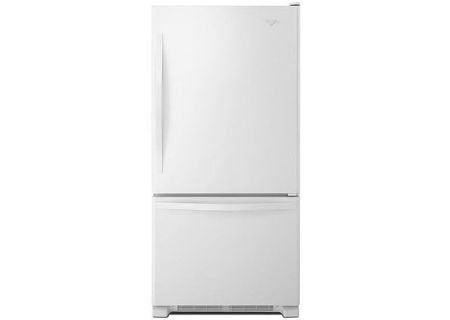 Whirlpool White Bottom-Freezer Refrigerator - WRB329DMBW