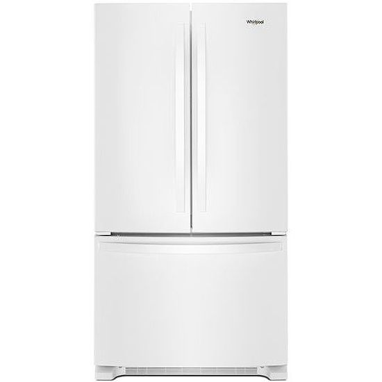 Whirlpool 36 White French Door Refrigerator Wrf540cwhw
