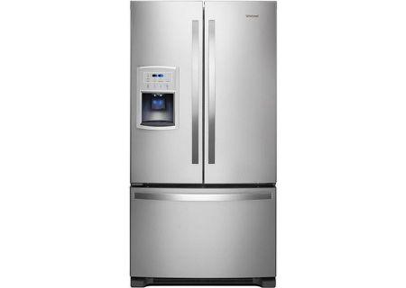Whirlpool Fingerprint Resistant Stainless Steel Counter-Depth French Door Refrigerator - WRF550CDHZ