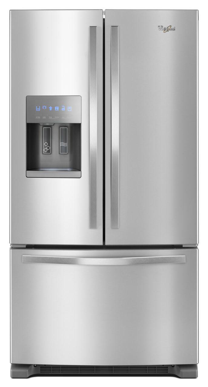 Whirlpool Stainless French Door Refrigerator Wrf555sdfz