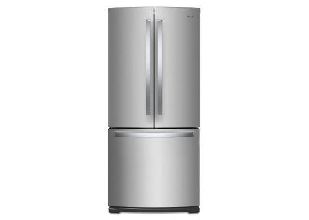 "Whirlpool 30"" Fingerprint Resistant Stainless Steel French Door Refrigerator - WRF560SMHZ"