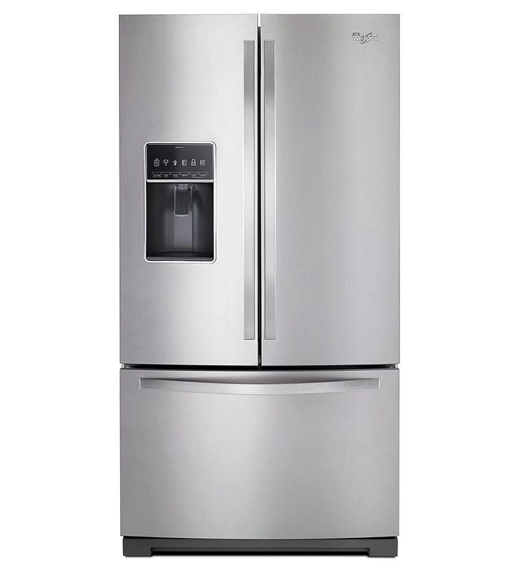 Whirlpool Stainless French Door Refrigerator Wrf757sdem