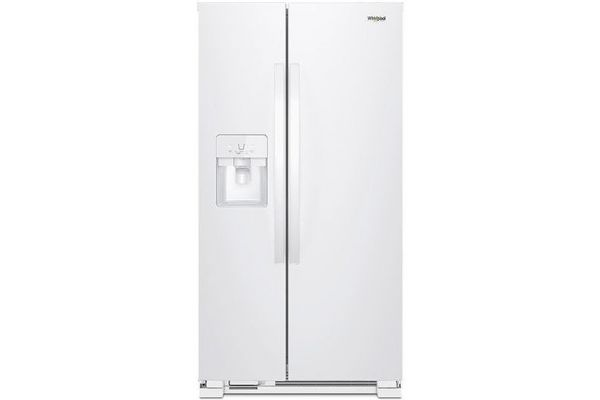 Whirlpool White Side-By-Side Refrigerator - WRS321SDHW