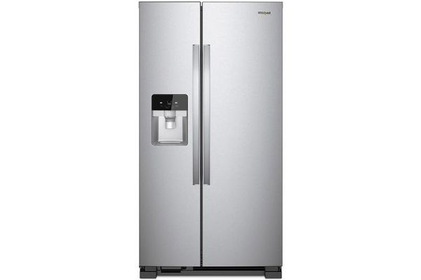 Whirlpool Fingerprint Resistant Stainless Steel Side-By-Side Refrigerator - WRS325SDHZ
