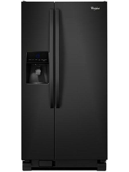 Whirlpool Black Side By Side Refrigerator Wrs342fiab