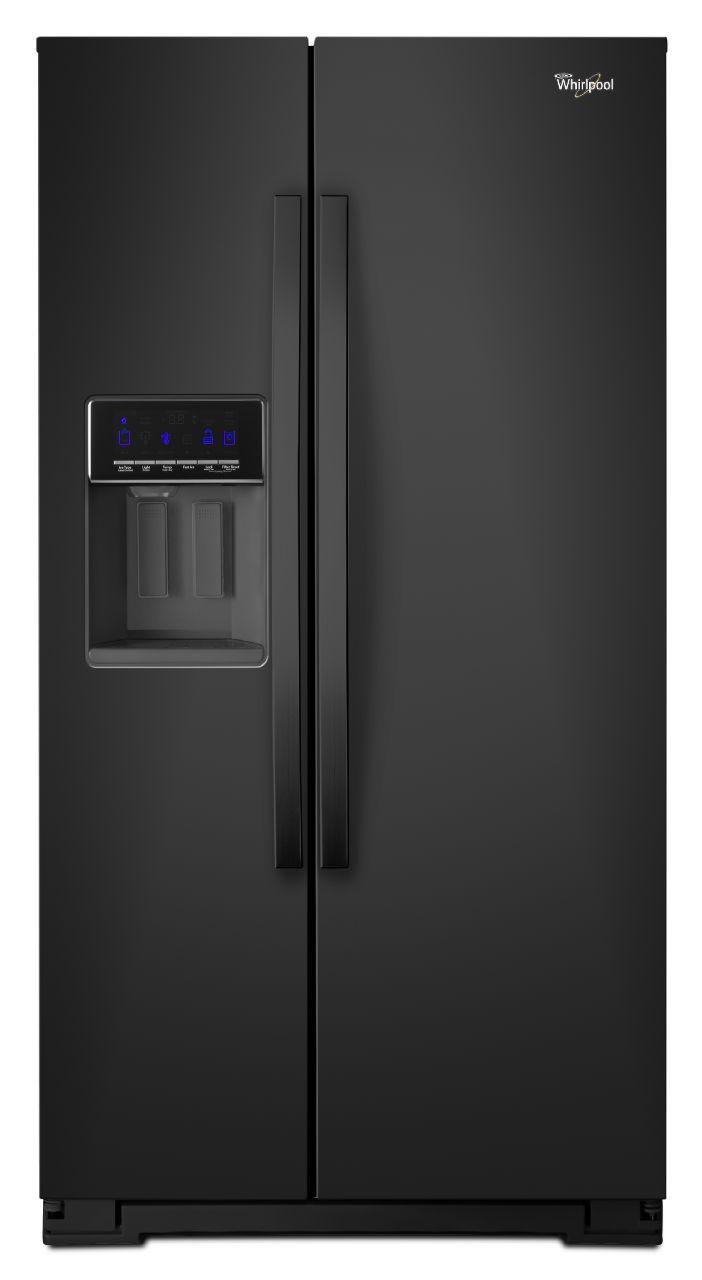 Whirlpool Black Side By Side Refrigerator Wrs571cidb