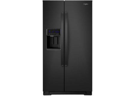 Whirlpool Black Side-By-Side Refrigerator - WRS588FIHB