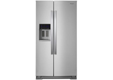 Whirlpool Fingerprint Resistant Stainless Steel Side-By-Side Refrigerator - WRS588FIHZ