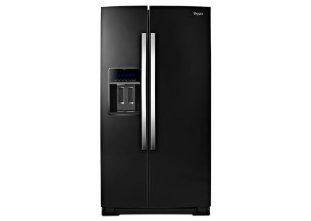 Whirlpool Black Ice Side-By-Side Counter Depth Refrigerator - WRS970CIDE