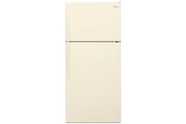 Whirlpool Bisque Top-Freezer Refrigerator - WRT104TFDT