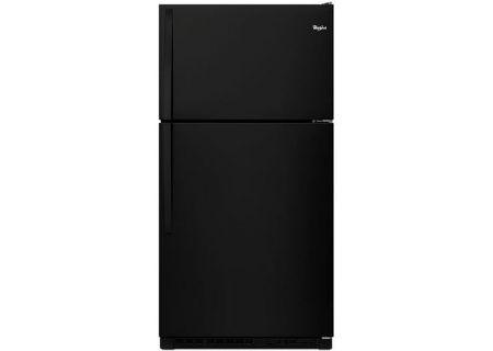 Whirlpool Black Top-Freezer Refrigerator - WRT311FZDBK