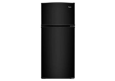 "Whirlpool 28"" Black Top Freezer Refrigerator  - WRT316SFDB"