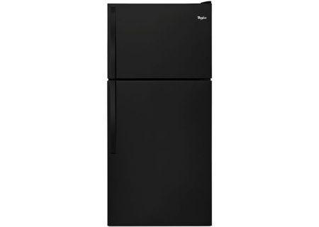 Whirlpool Black Top-Freezer Refrigerator - WRT318FMDB