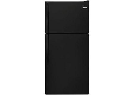 Whirlpool Black Top-Freezer Refrigerator - WRT318FZDBK