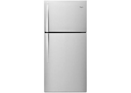 Whirlpool Monochromatic Stainless Steel Top-Freezer Refrigerator - WRT549SZDM