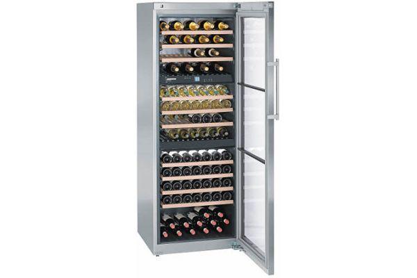 Liebherr Stainless Standing Wine Refrigerator - WS-17800