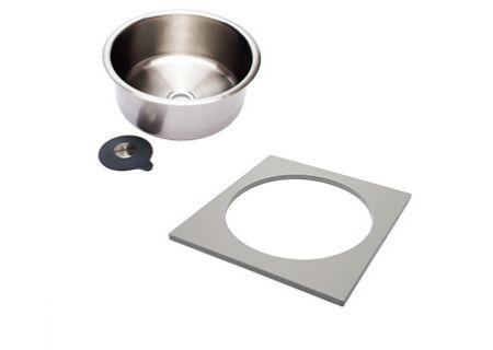 The Galley Dual-Tier Grey Resin Wash & Serve Basin - WS-17-D-GR