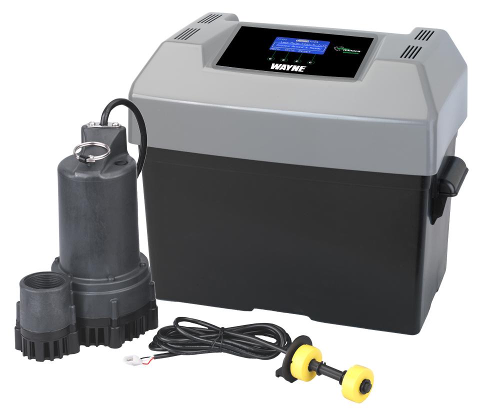 Wayne Sump Minder 12v Battery Back Up Wsm3300 Abt