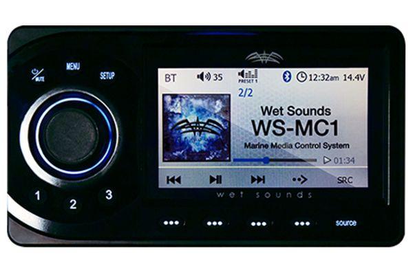 Large image of Wet Sounds Marine Media Center - WS-MC1